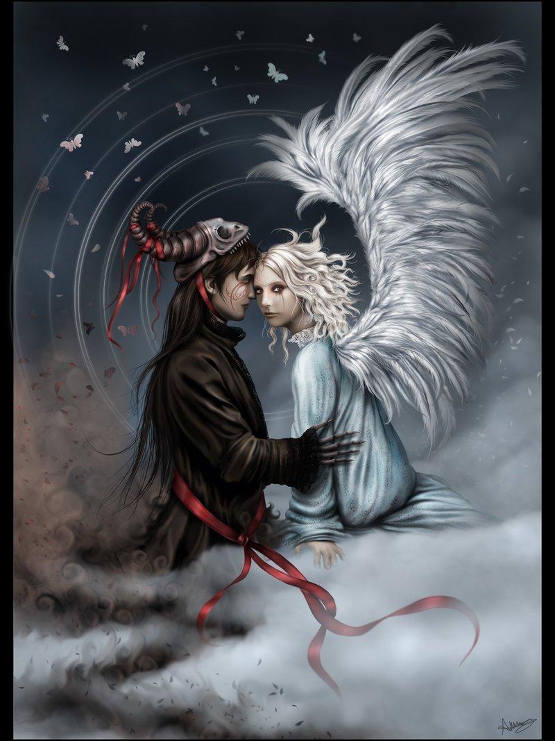 Оптом, картинка ангел и демон