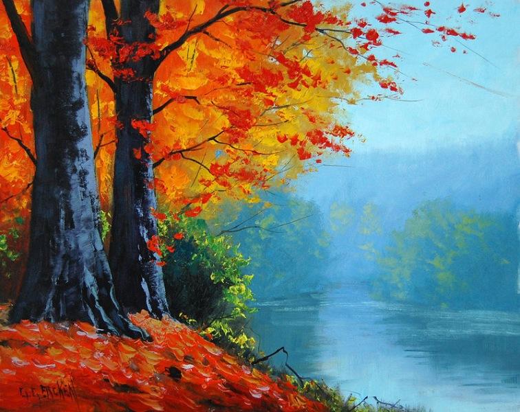 Марта, картинки природы осенью для детей