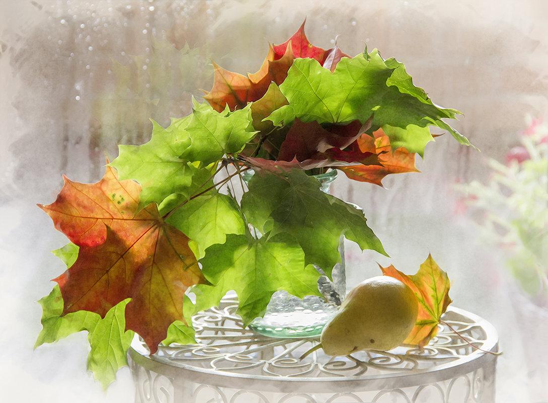 Красивые анимашки осень, открытка
