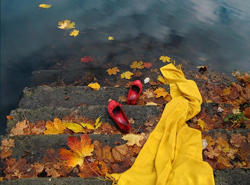 Картинки уходит осень медленно красиво, открытки картинки