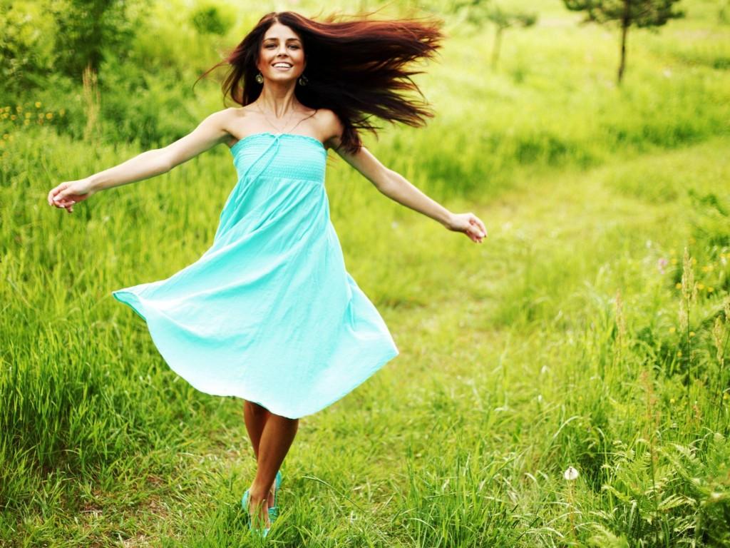 Картинки счастливая девушка, картинки тему