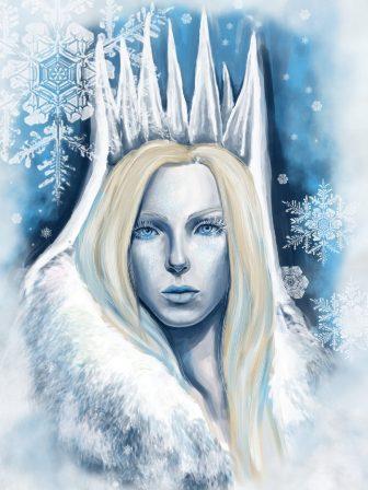 ним снежная королева картинки из сказки в полный рост рисунок выводках обыкновенных