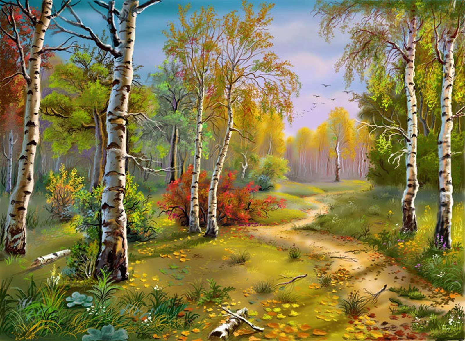 Открытки природы россии, поздравления