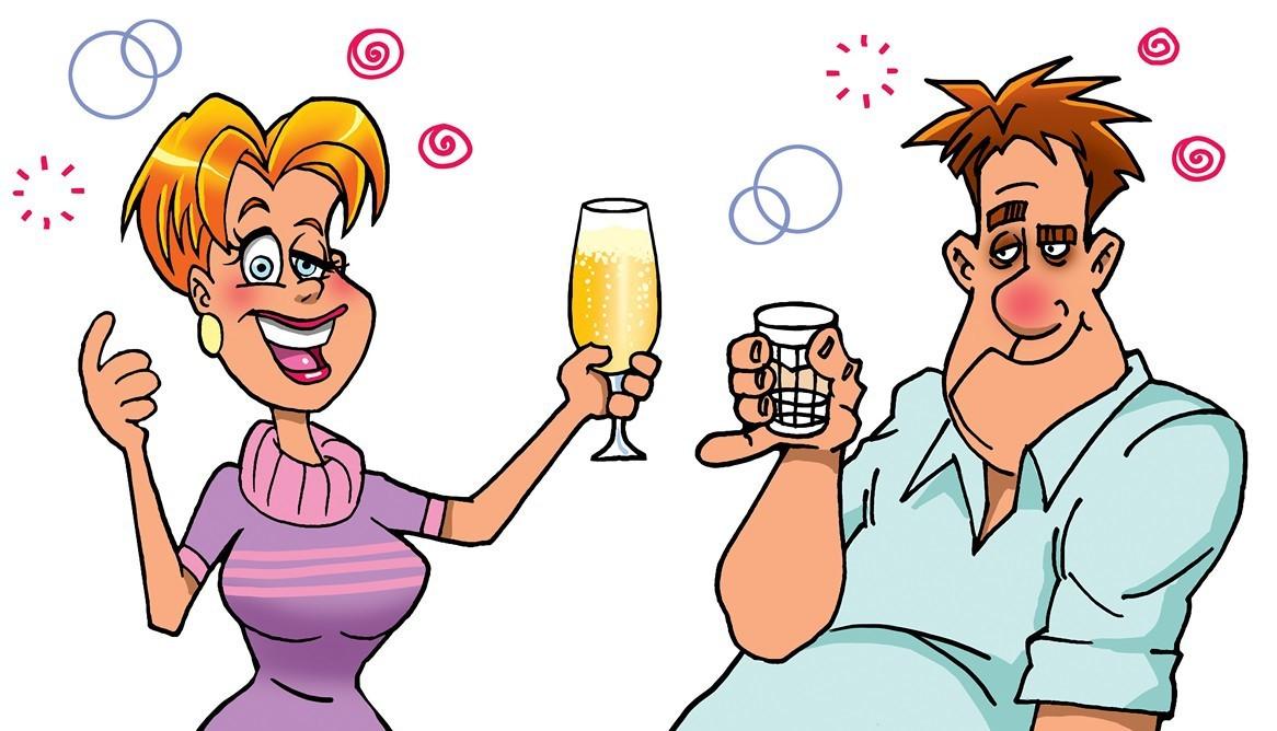 Картинки для жены прикольные и алкоголь, открытки блестящие