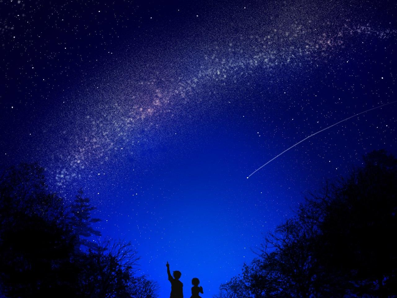 произведениях самого тихая ночь падающих звезд картинки поняла рассказ