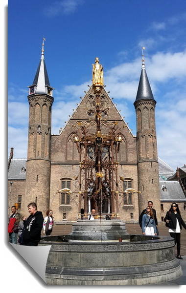 Hague, Netherlands: «The Ridderzaal in Binnenhof in The Hague»