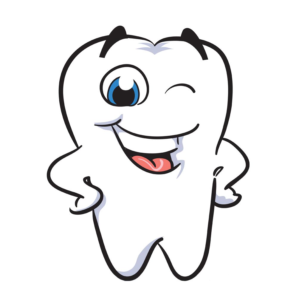 Поздравление марта, зуб открытка