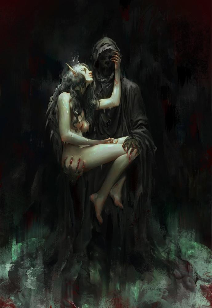Картинка демон в душе