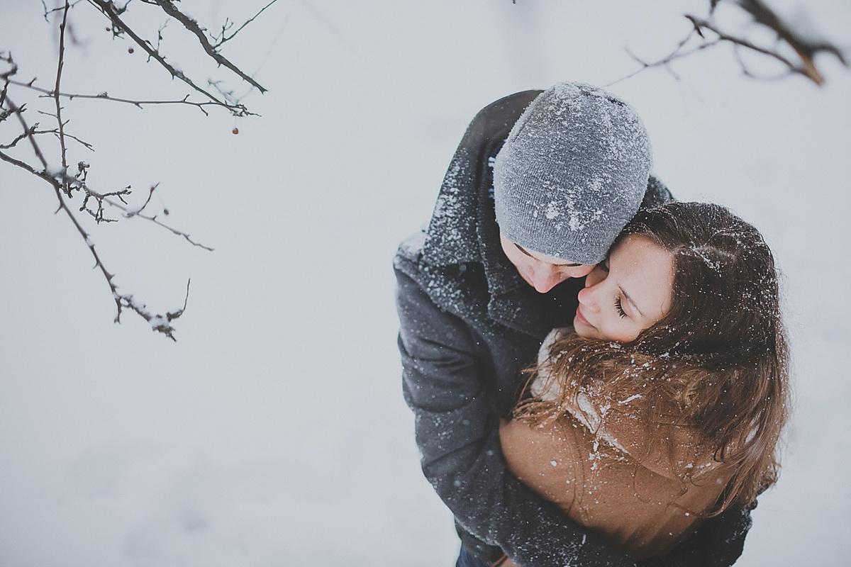 Картинка пара снег