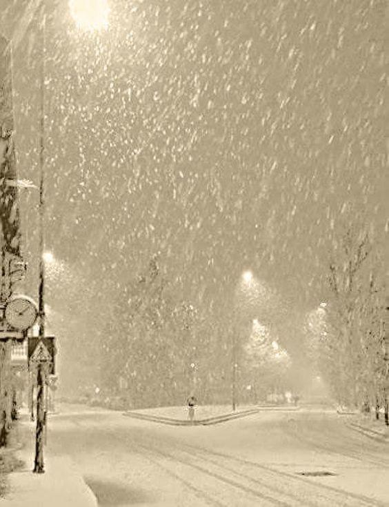 3-й день снег и снег порошит...