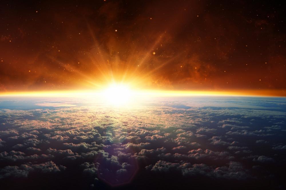 картинки планета земля на рассвете выбирает молодежь