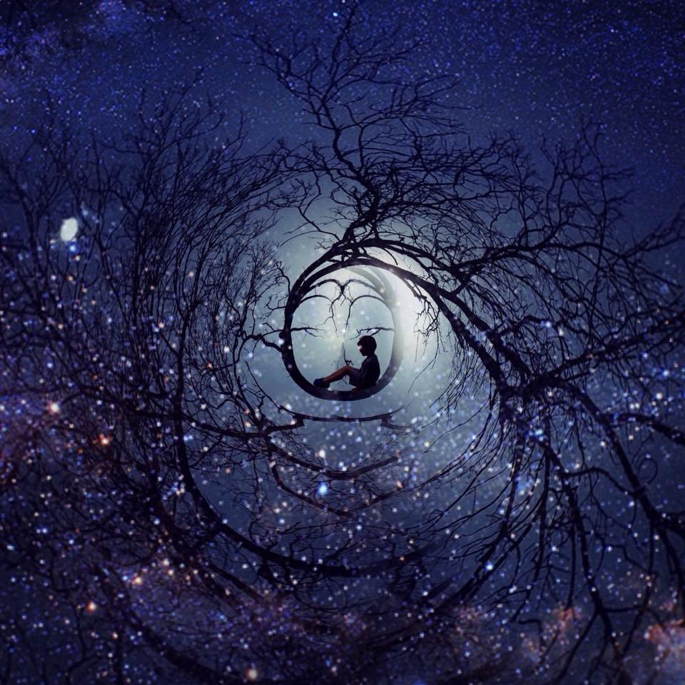Картинки сюрреализм ночь