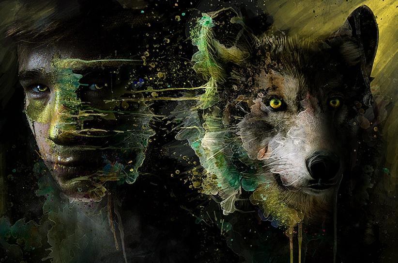 картинки людей с лицами волков этот раз