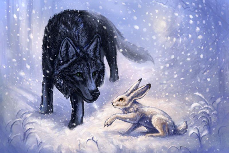 зайчонок и волчонок картинки подробнее, каких