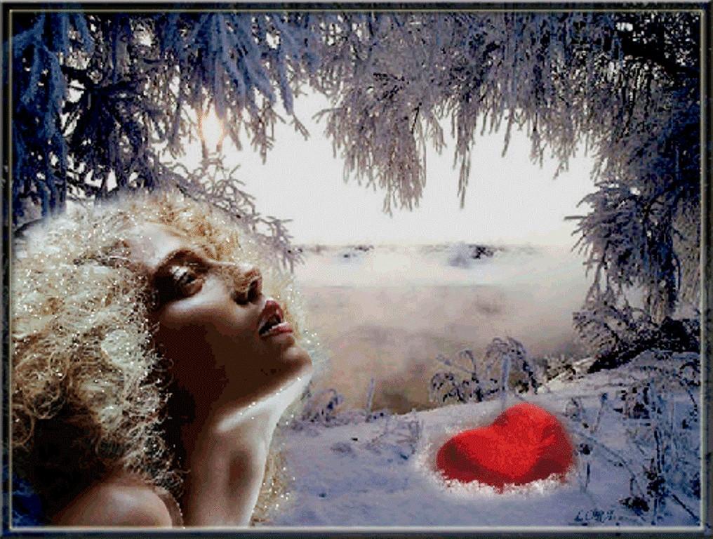Открытки про красоту в мороз