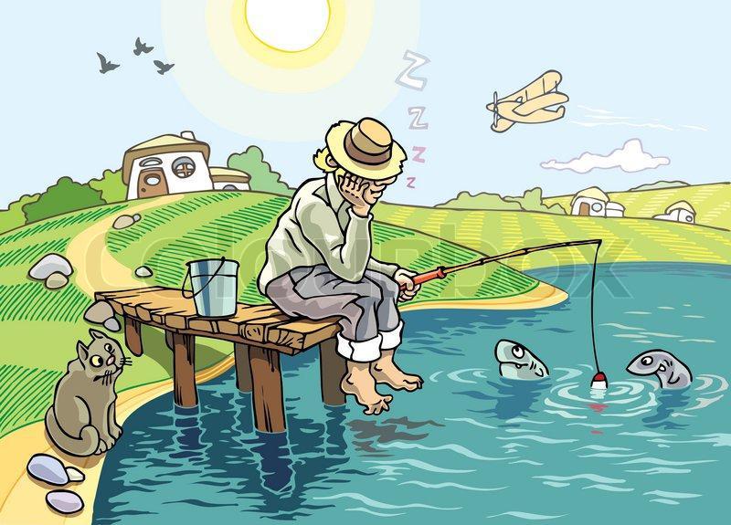 Смешные картинки про рыбака и рыбку из пруда, картинки про погоди