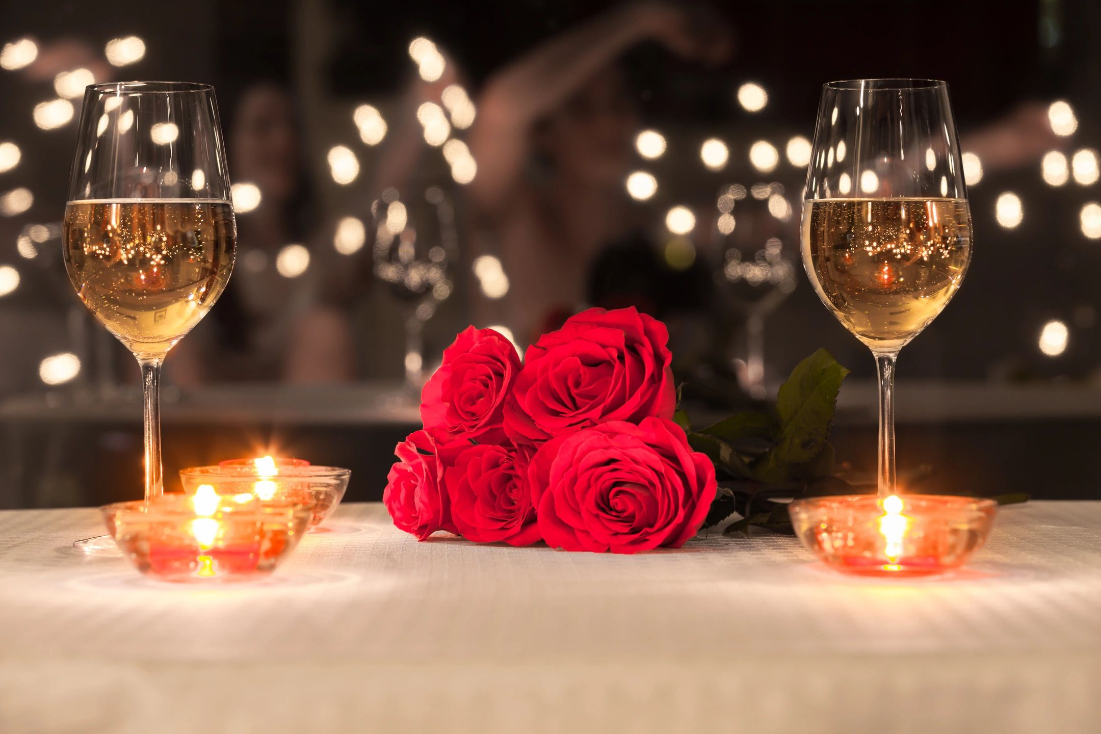 Романтичные вечера в открытках