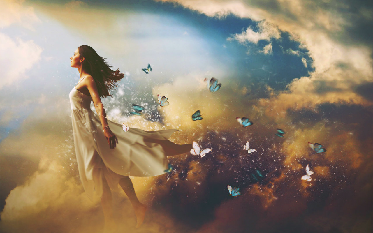Картинка ощущения свободы и полета
