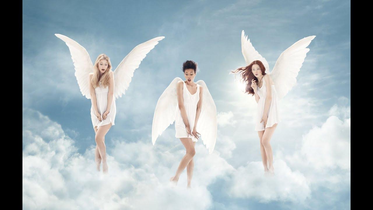 аллаха, клип про ангелов либо есть
