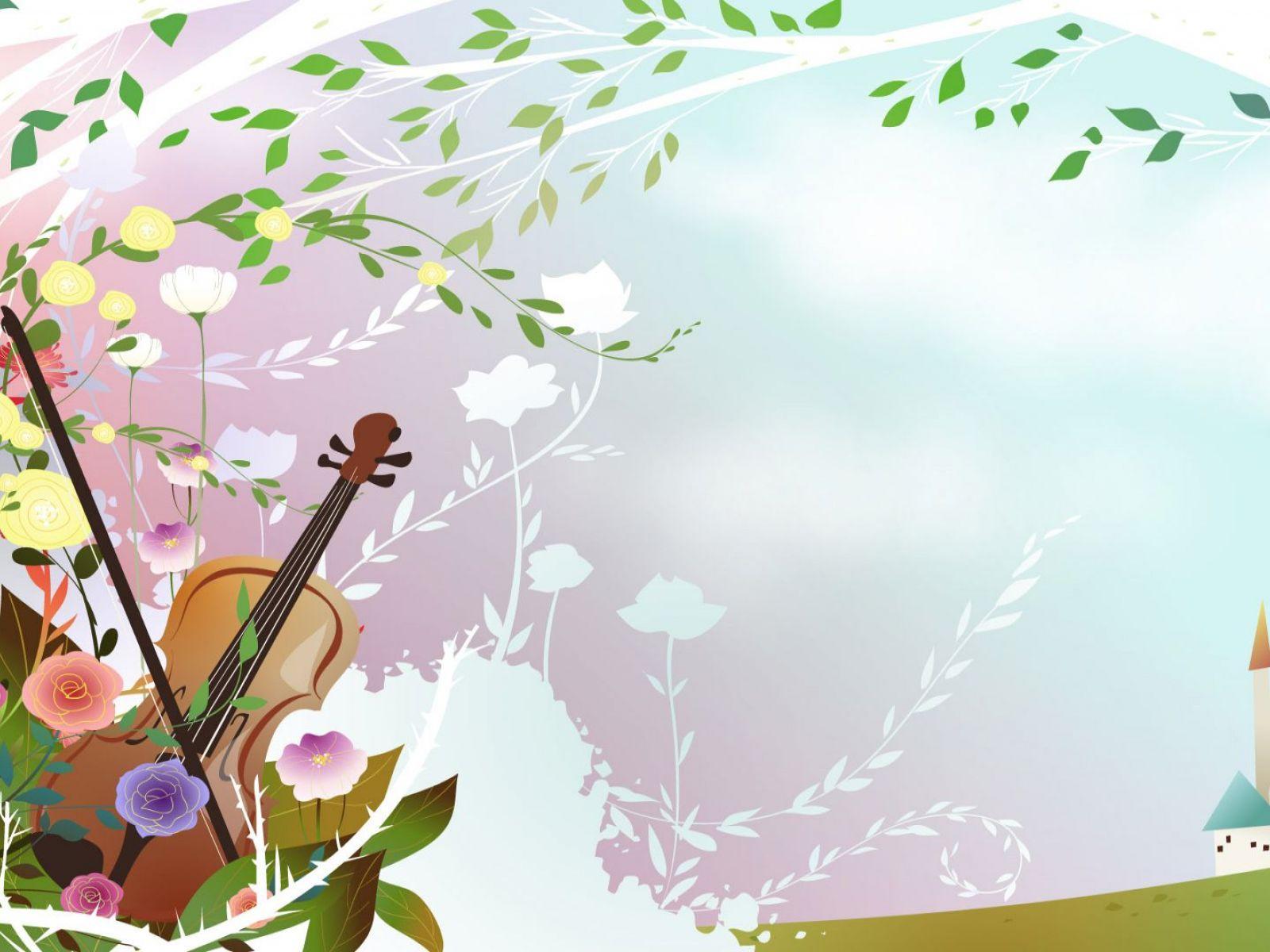 Открытки мелодия весны
