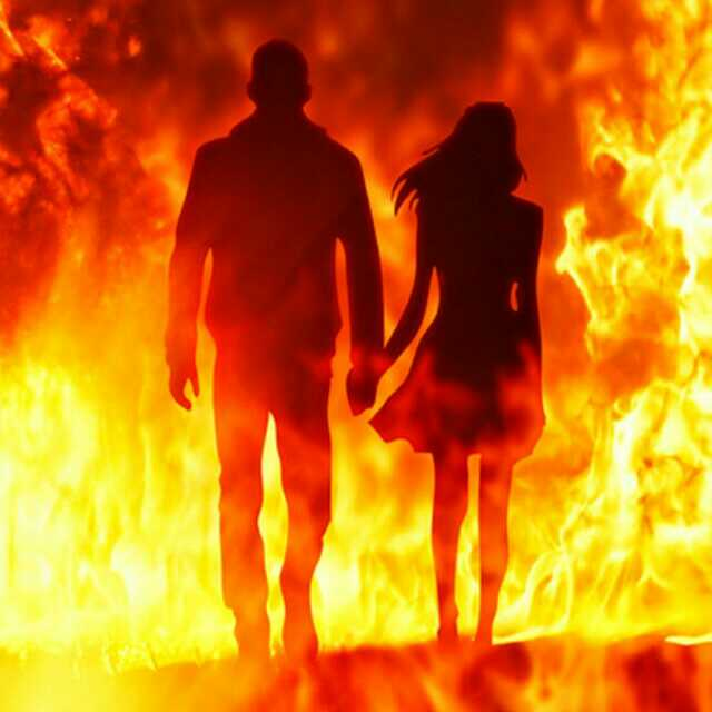 поцелуй в огне картинка урок, смотря то