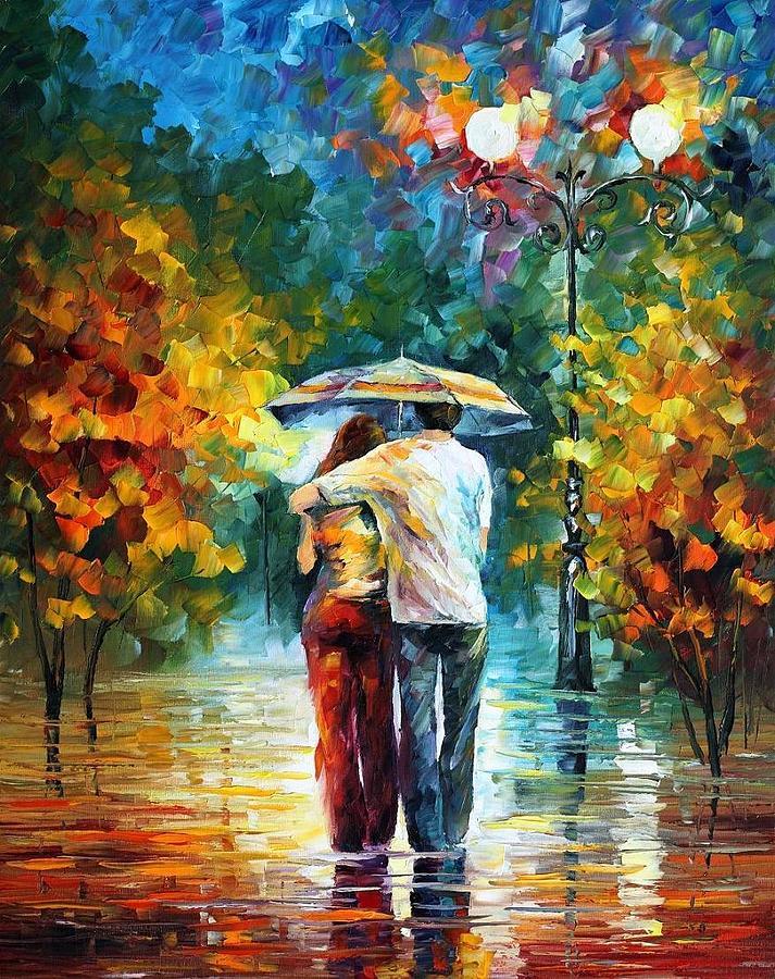 Красивые картинки любовь и романтика рисованные, добрым утром