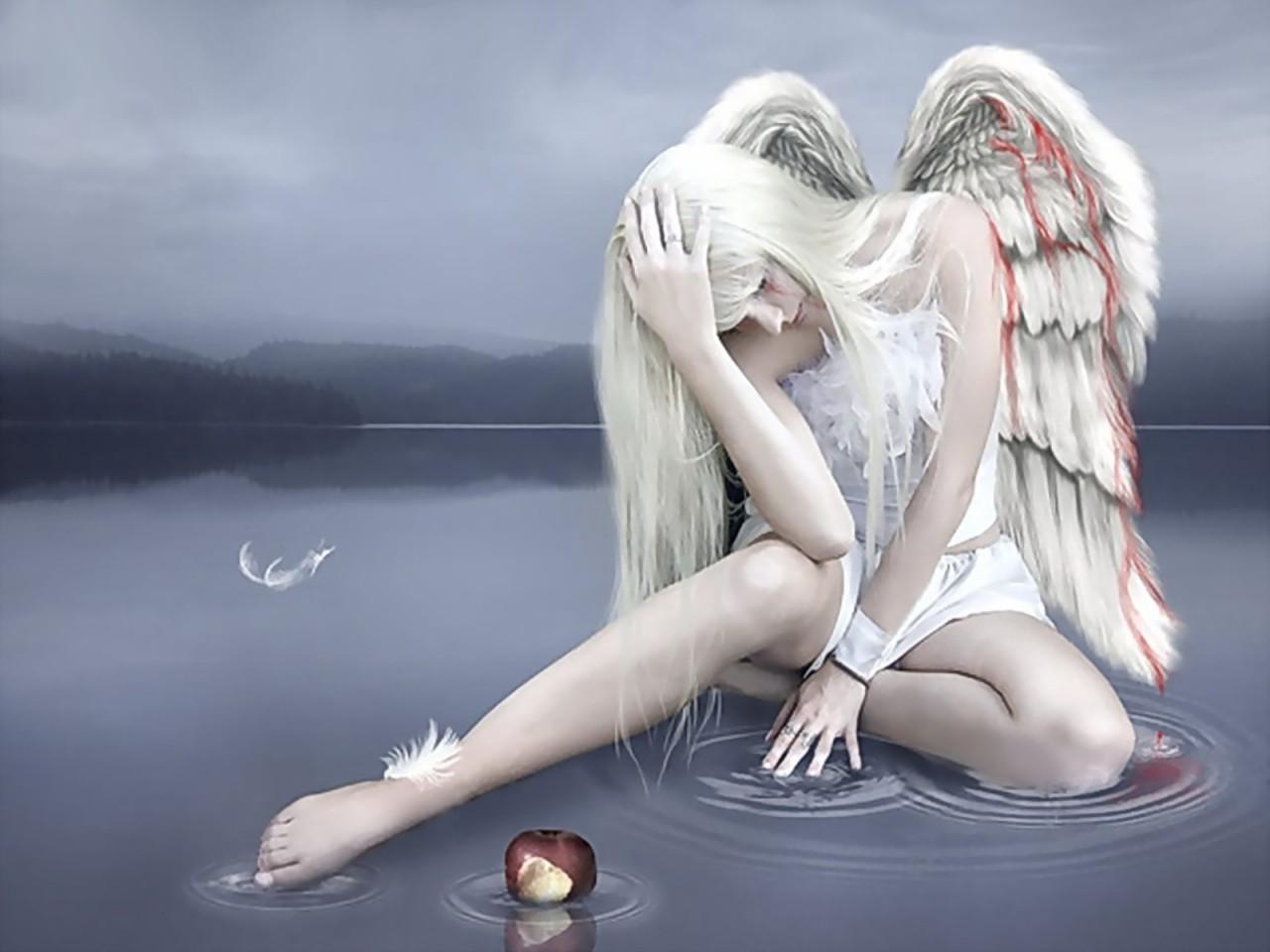 картинка ангела сломаны крылья конкурируем друг другом