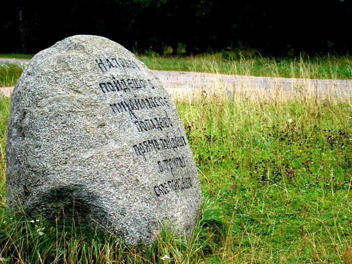 Картинка сказочный камень с надписью