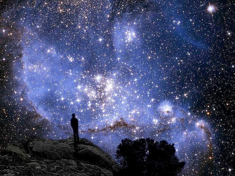 Картинки в человеке звездный мир