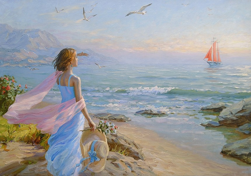 Мечты о море в картинках