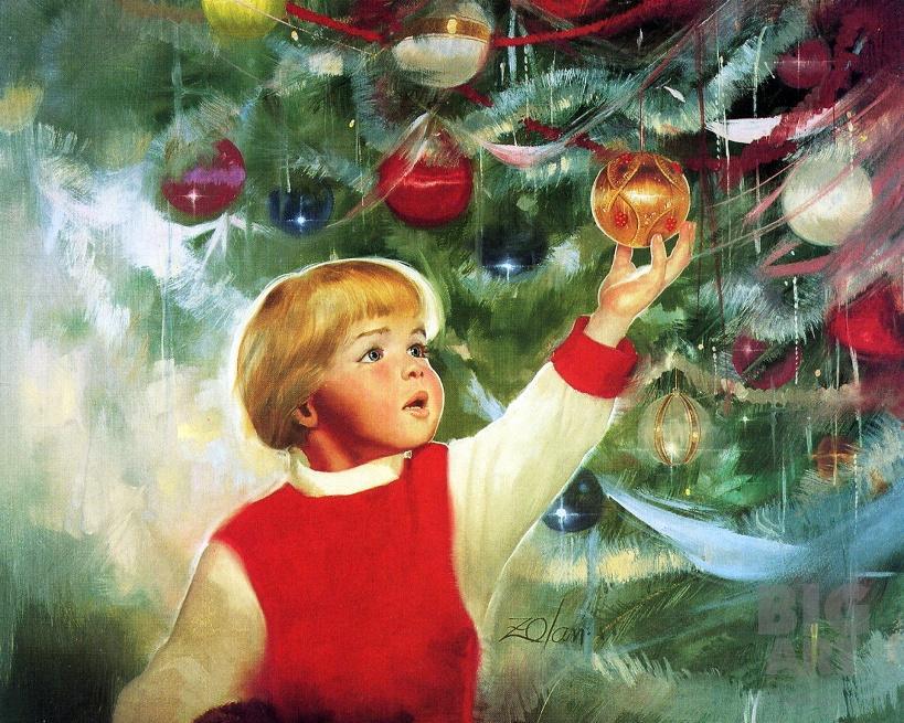 Краски мальчик с открытки