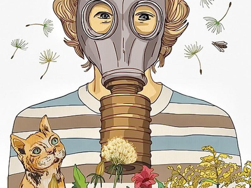 Картинка аллергия прикольная, малышей