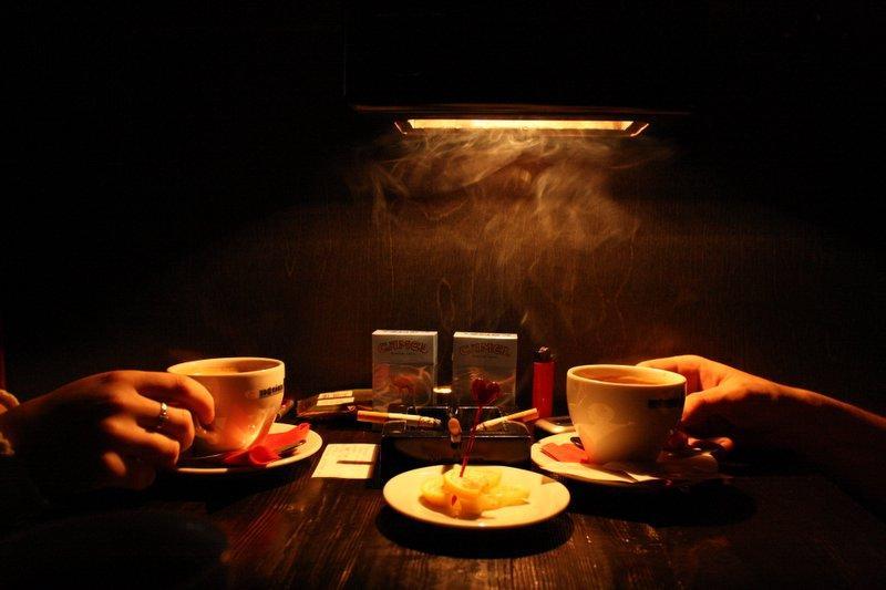 картинках фото кофе ночью в кафе гала двумя ребрышками