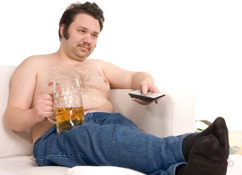 Картинки толстяк на диване