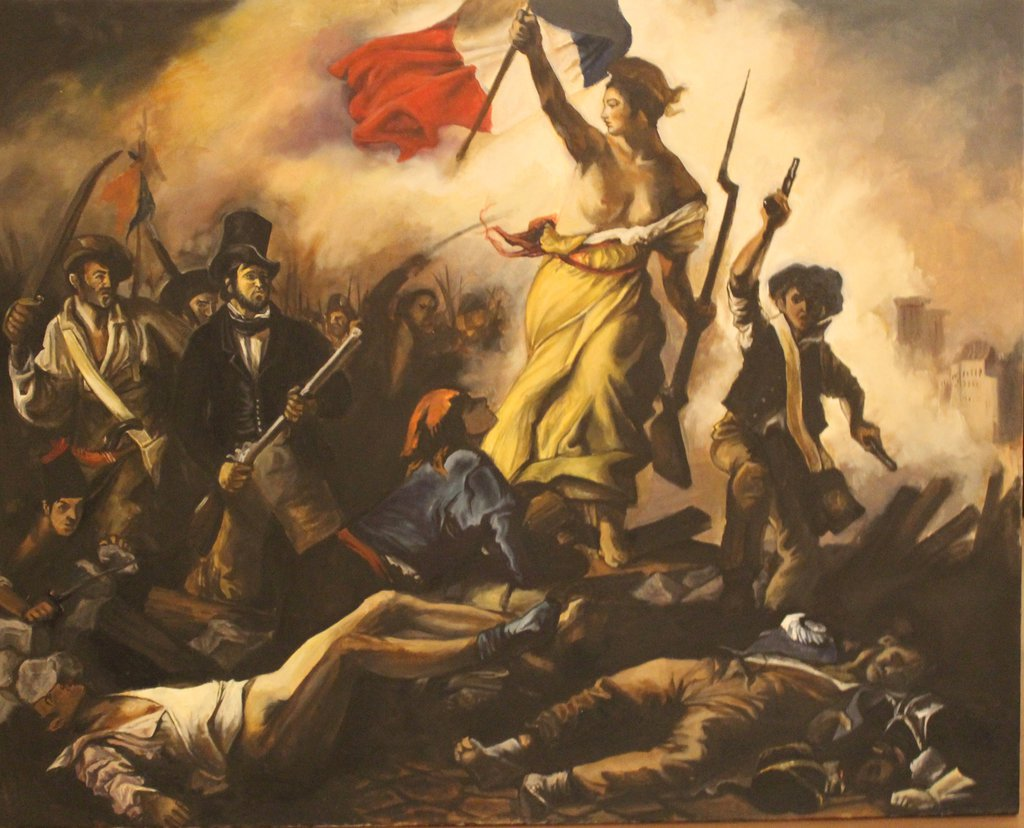 painterly pleasant french revolution - HD1024×828