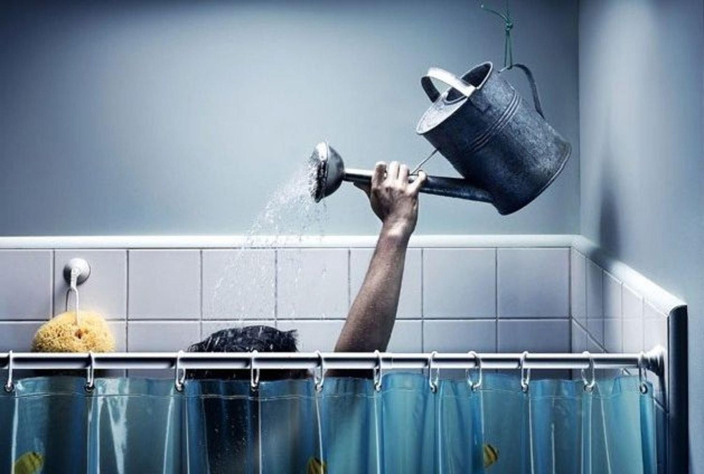 Открытки доброе, смешные картинки про душ