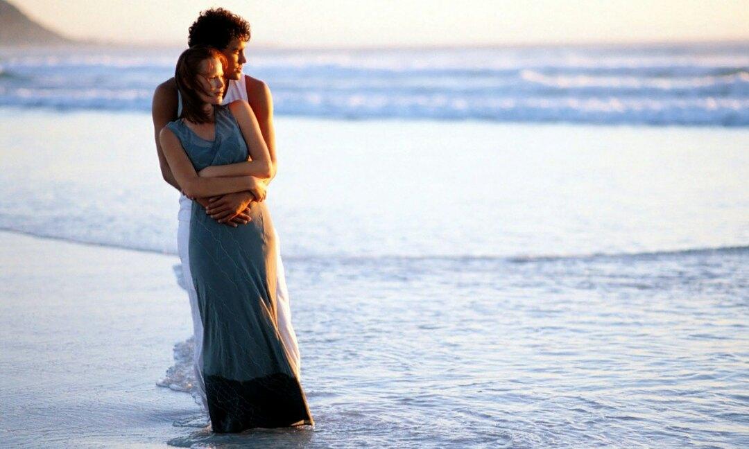 Картинки любовь и море