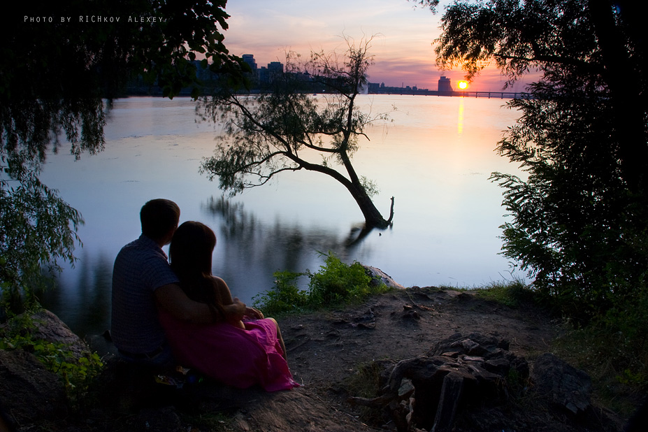 Свидание у реки картинки фото