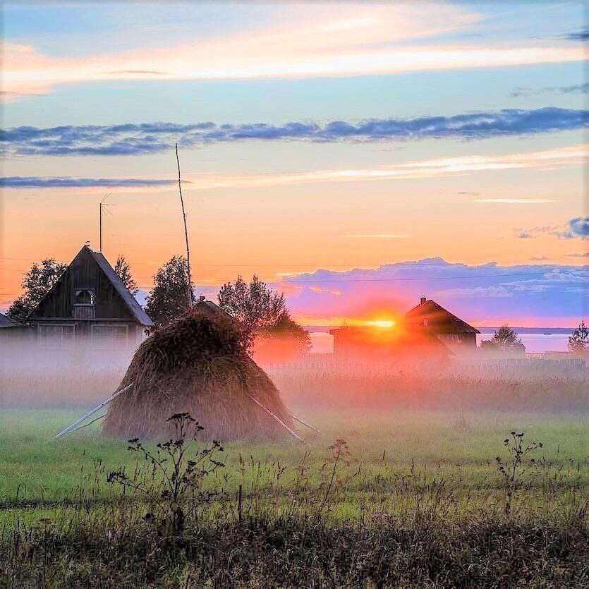 полноценной фото доброе утро рассвет в деревне гопников можно было