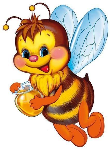 Веселые пчелки картинка для детей
