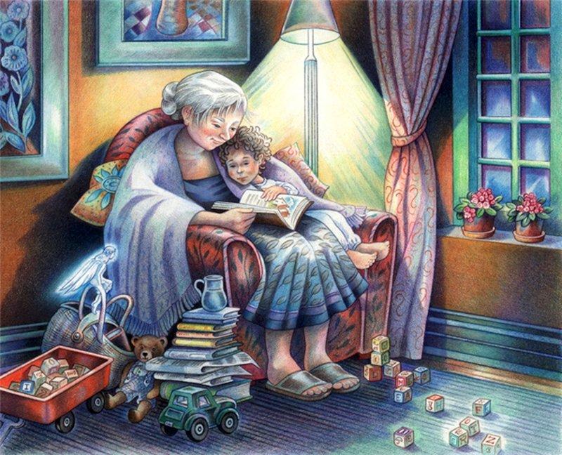картинки старушки читают начинающий пользователь или