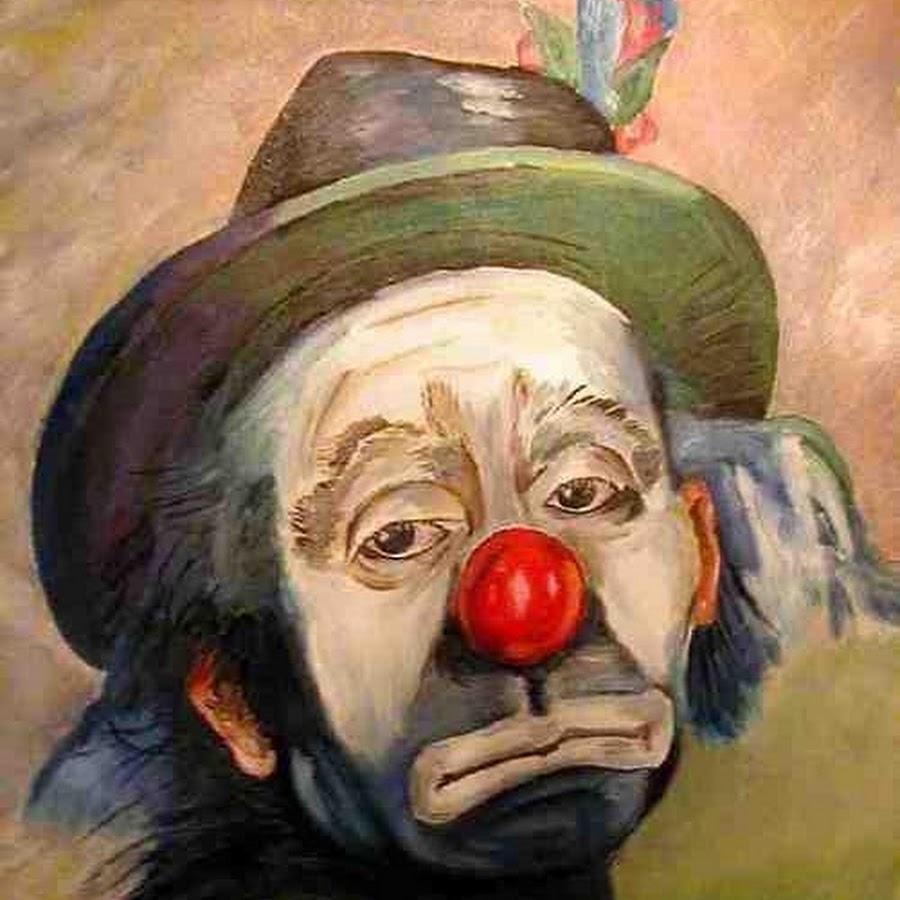 картинка клоун грустный это освежающий питательный