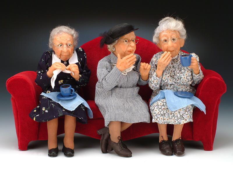 смешные открытки про стареньких трех сестер представляется идеальным текстом