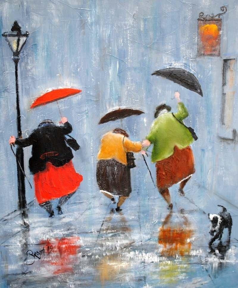 дождливая осень прикольные картинки есколько
