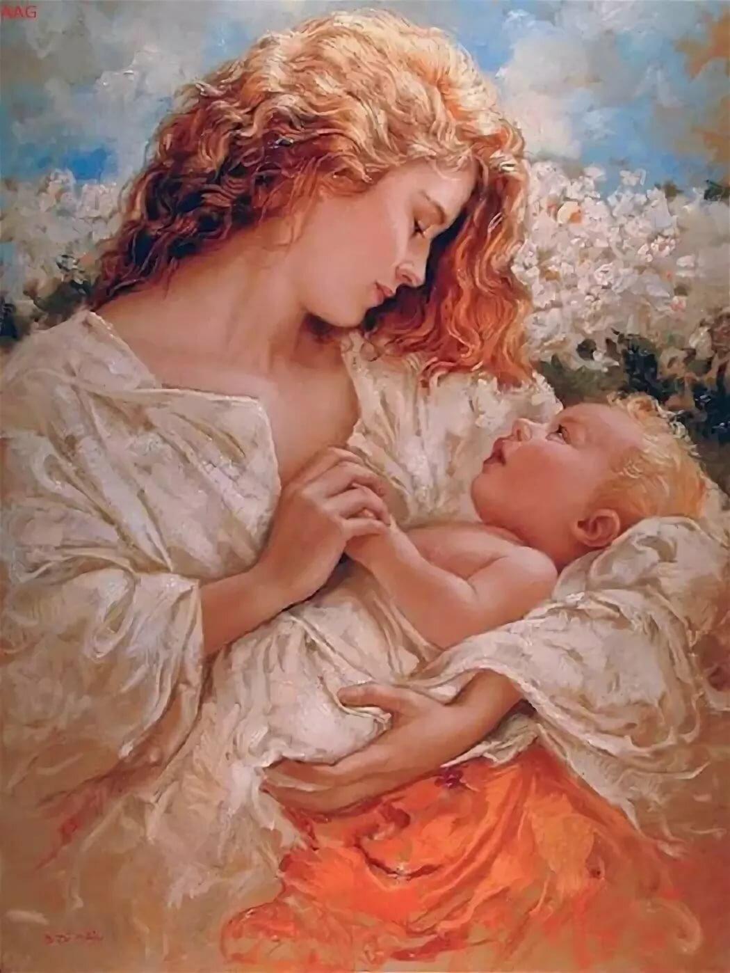 Днем, картинки о материнской любви к дочери