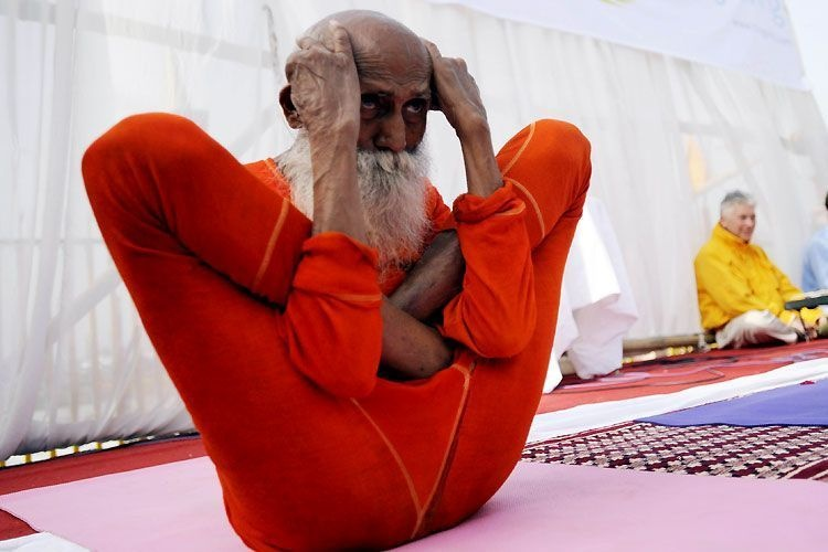 Открытки, веселые картинки по йоге