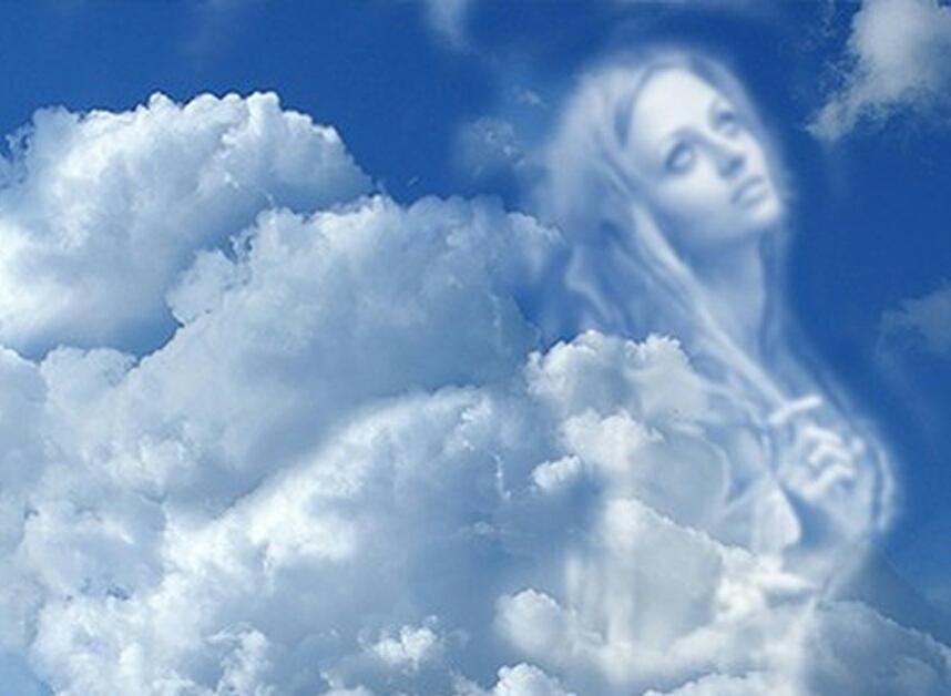 Своими руками, картинки мать с сыном на небесах