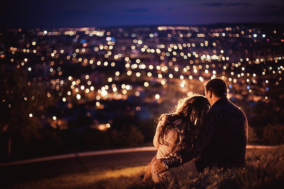 Красивые картинки вечер двое