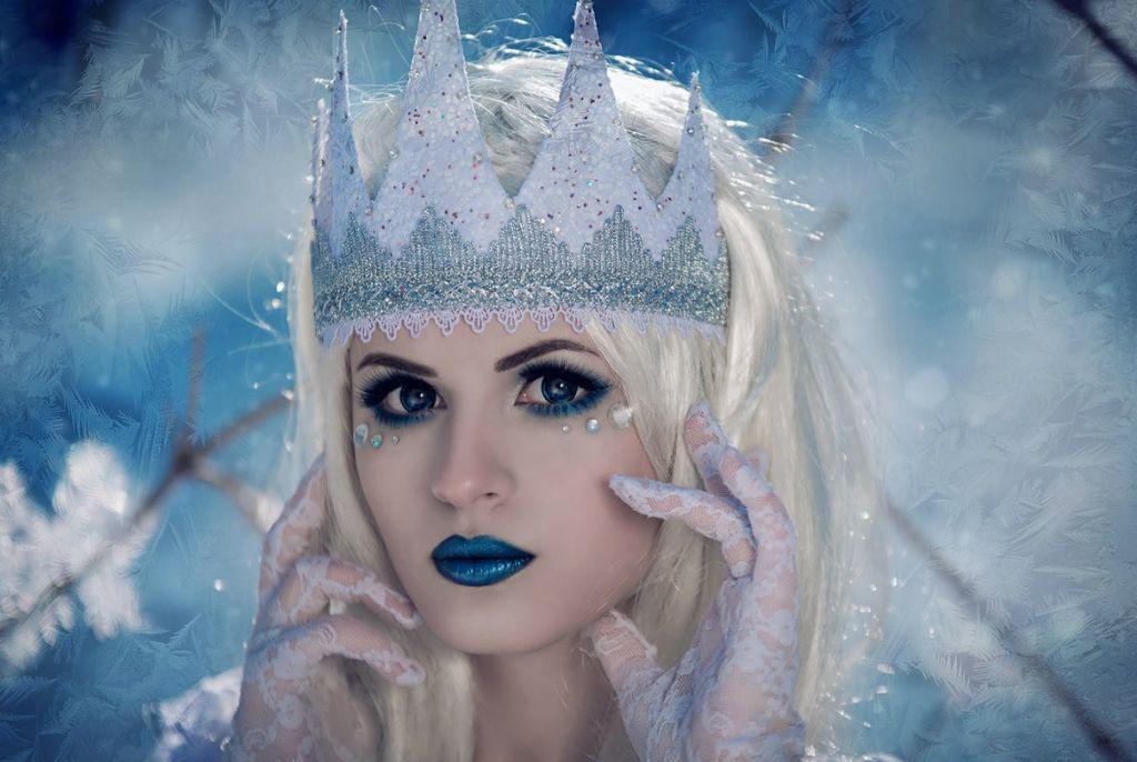 Гифы губки, девушка зима картинки сказочные
