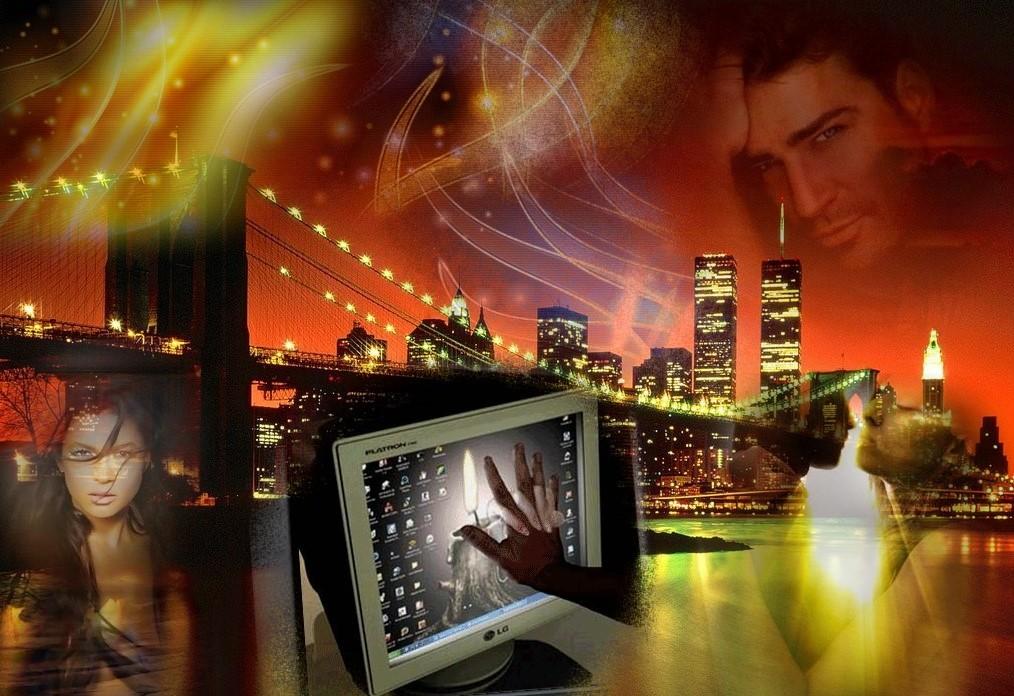 Картинки виртуальная любовь анимация